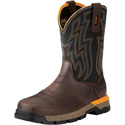 Men's Rebar Flex EH Composite Toe Western Wellington Work Boots