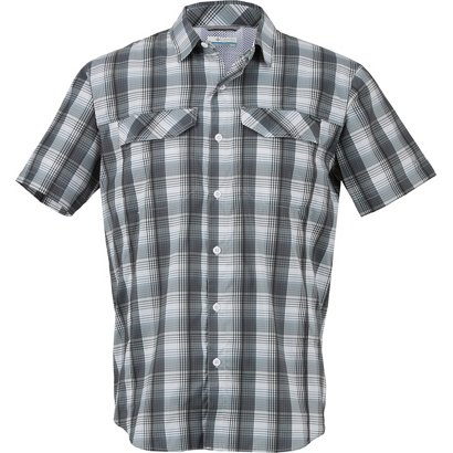 4fd49b4f6ab ... Columbia Sportswear Men's Silver Ridge Lite Plaid Short Sleeve Shirt. Men's  Shirts. Hover/Click to enlarge