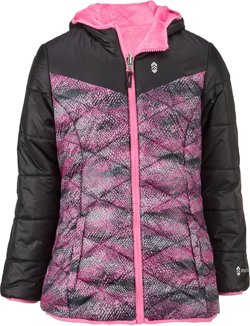 Free Country Girls' Reversible Puffer Jacket