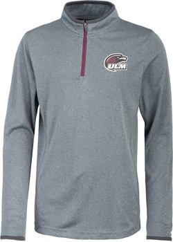 Colosseum Athletics Youth University of Louisiana at Monroe Action Pass 1/4 Zip Wind Shirt