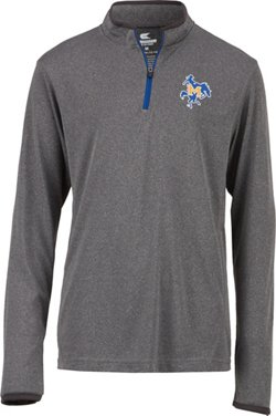 Colosseum Athletics Youth McNeese State University Action Pass 1/4 Zip Wind Shirt