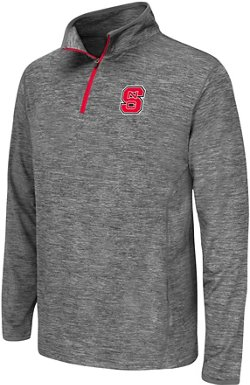 Youth North Carolina State University Action Pass 1/4 Zip Wind Shirt