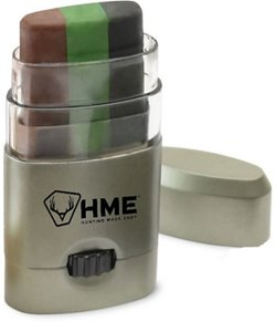 HME Products 3-Color Camo Face Paint Stick