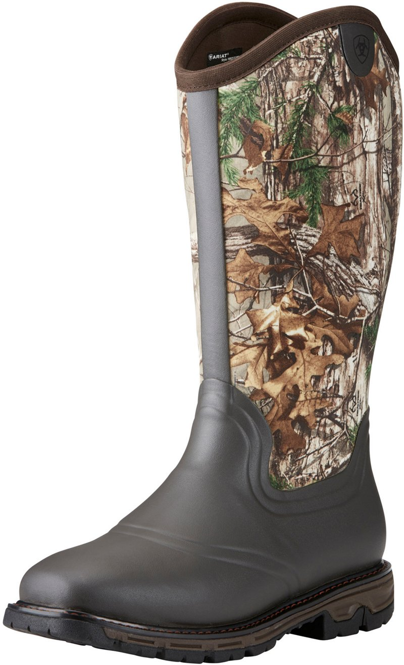 Ariat Men's Conquest Realtree Xtra Neoprene Wellington Hunting Boots (, Size 8) - Insulated Rubber at Academy Sports thumbnail