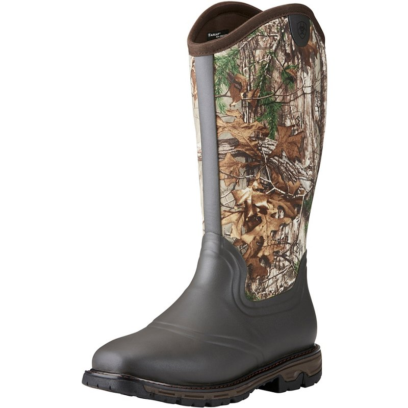 Ariat Men's Conquest Realtree Xtra Neoprene Wellington Hunting Boots (, Size 12) - Insulated Rubber at Academy Sports thumbnail