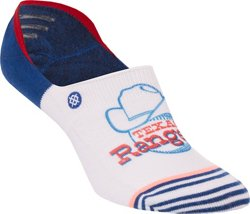 Stance Women's Texas Rangers Super Invisible Socks