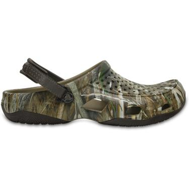 6bf09d7e700db ... Crocs™ Men's Swiftwater Realtree Max-5® Deck Clogs. Men's Casual Shoes.  Hover/Click to enlarge