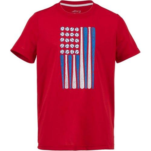 BCG Boys' Baseball Short Sleeve T-shirt