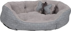 Dallas Manufacturing Company 30 in x 25 in Pet Bed with Toy and Blanket