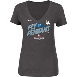 Women's Dodgers National League Champs Locker Room T-Shirt