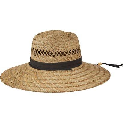 3d08c10e9b216 O Rageous Men s Straw Lifeguard Hat