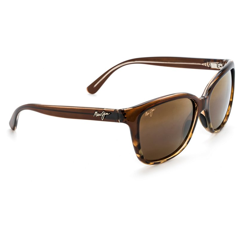 5a97250d63 Maui Jim Starfish Polarized Sunglasses Translucent Chocolate Tortoise -  Case Sunglasses at Academy Sports