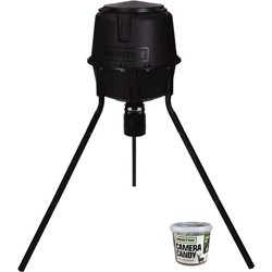 Deer Feeder Pro 30 gal Tripod Feeder and Camera Candy Set