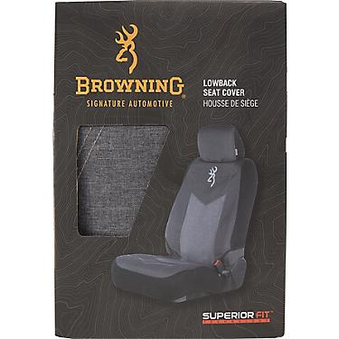 Peachy Browning Heathered Low Back Seat Cover Uwap Interior Chair Design Uwaporg