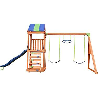 AGame Denver Wooden Swing Set