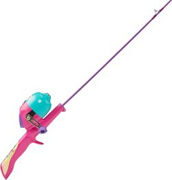Kid Casters Kids' Shimmer and Shine 2 ft 6 in M Freshwater Spincast Rod and Reel Combo