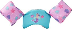 SwimWays Kids' Sea Squirts Swim Trainer Mermaid Life Jacket