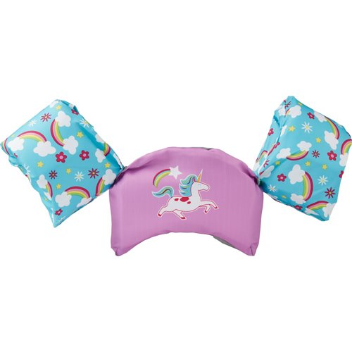 SwimWays Kids' Sea Squirts Swim Trainer Unicorn Life Jacket