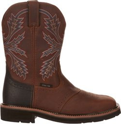 Brazos Men's Bandero 2.0 Steel Toe Work Boots