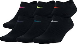 Women's Performance Lightweight No-Show Training Socks 6 Pack