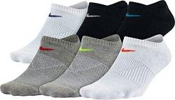 Nike Women's Performance Lightweight No-Show Training Socks 6 Pack