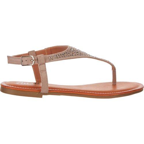 Austin Trading Co. Women's Rhinestone Thong Sandals