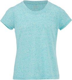 BCG Girls' Lifestyle Crew Slub T-shirt