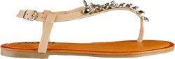 Austin Trading Co. Women's T-Strap Stones Thong Sandals