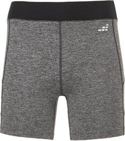 BCG Women's Melange Contrast Stitch Shorts