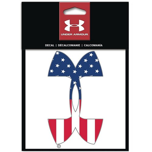 Under Armour 6 in Flag Logo Decal