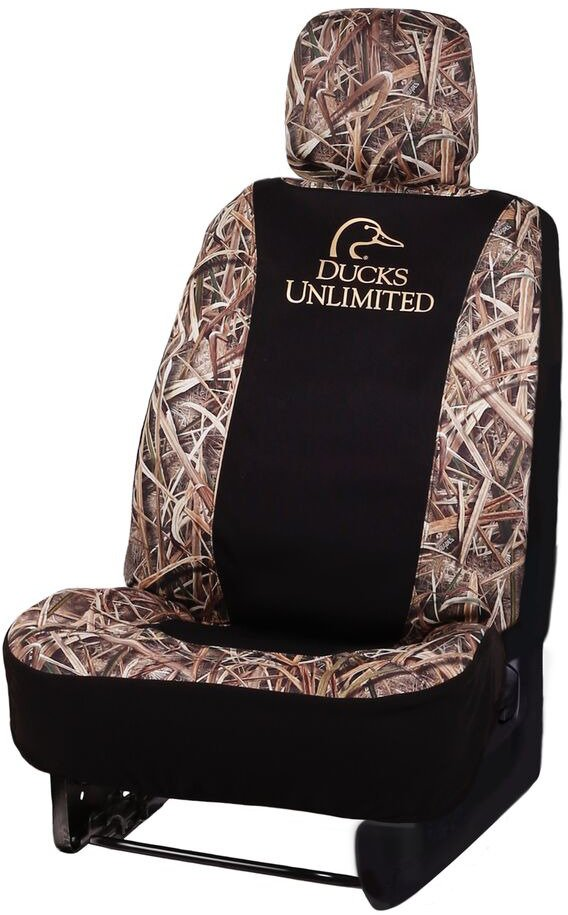 Ducks Unlimited Seat Covers >> Ducks Unlimited Low Back Neoprene 2 0 Camo Seat Cover