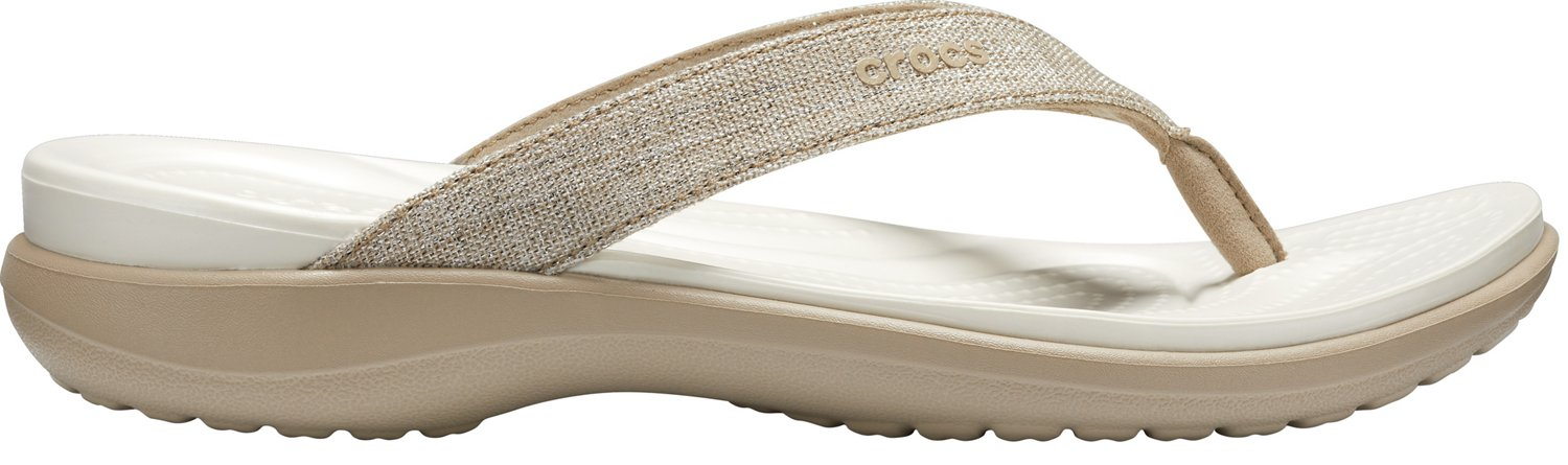 8211e5ccc64b1c Display product reviews for Crocs Women s Capri V Shimmer Flip Flops This  product is currently selected