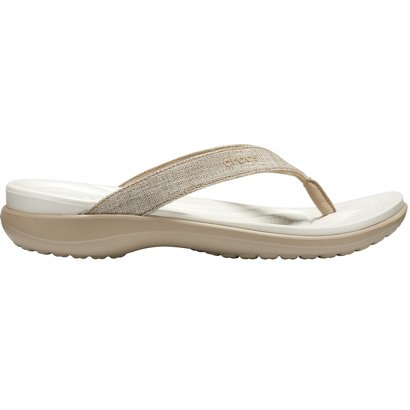 67808ceb7ee1c ... Crocs Women s Capri V Shimmer Flip Flops. Women s Sandals   Flip Flops.  Hover Click to enlarge