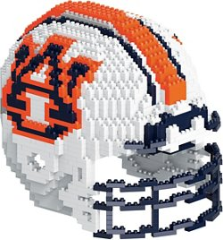 Forever Collectibles Auburn University 3-D BRXLZ Helmet Puzzle