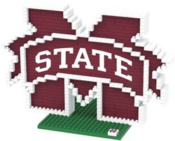 Forever Collectibles Mississippi State University 3-D BRXLZ Logo Puzzle