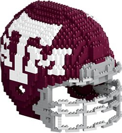 Forever Collectibles Texas A&M University 3-D BRXLZ Helmet Puzzle