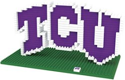 Texas Christian University 3-D BRXLZ Logo Puzzle
