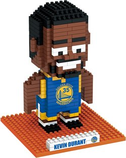 Forever Collectibles Golden State Warriors Kevin Durant BRXLZ 3-D Player Puzzle