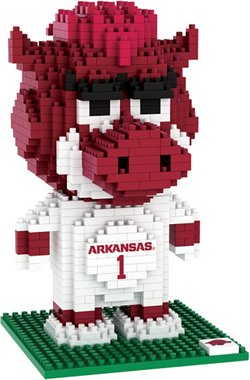 Forever Collectibles University of Arkansas 3-D BRXLZ Mascot Puzzle