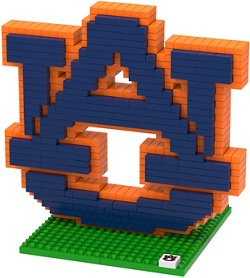 Forever Collectibles Auburn University 3-D BRXLZ Logo Puzzle