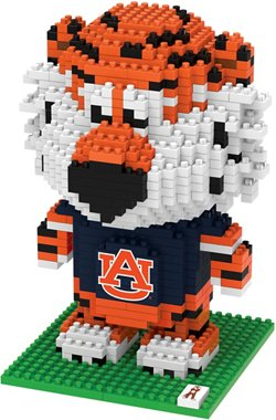 Forever Collectibles Auburn University 3-D BRXLZ Mascot Puzzle