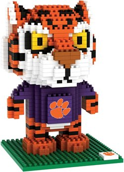 Forever Collectibles Clemson University 3-D BRXLZ Mascot Puzzle