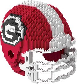 Forever Collectibles University of Georgia BRXLZ 3-D Mini Helmet Puzzle