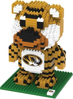 Forever Collectibles University of Missouri 3-D BRXLZ Mascot Puzzle
