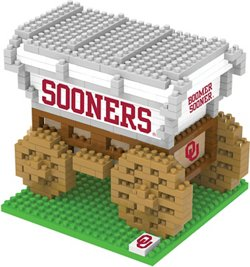 Forever Collectibles University of Oklahoma 3-D BRXLZ Mascot Puzzle