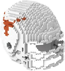 University of Texas 3-D BRXLZ Helmet Puzzle