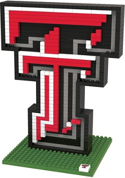 Texas Tech University 3-D BRXLZ Logo Puzzle
