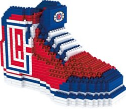 Los Angeles Clippers BRXLZ 3-D Sneaker Puzzle
