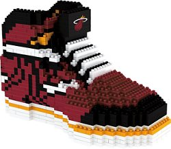 Forever Collectibles Miami Heat BRXLZ 3-D Sneaker Puzzle