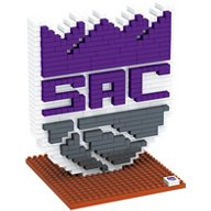 Forever Collectibles Sacramento Kings BRXLZ 3-D Logo Puzzle